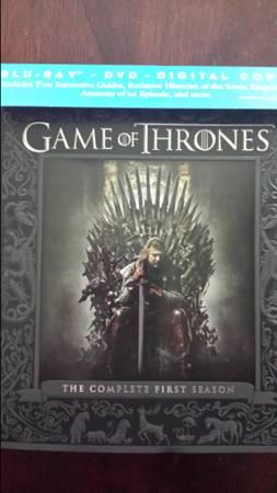 Game of Thrones Seasons 1, 2, and 3 - $90