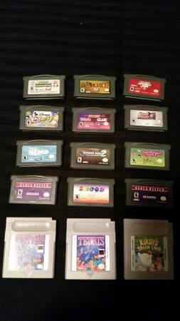 Gameboy / GB Advance SP / DS Games - $2