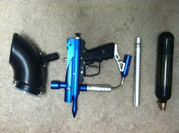 Vexor paintball gun