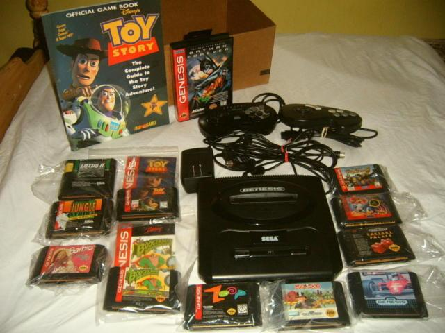 Games Added Sega/genesis with 12 Games,2 controllers