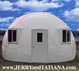 Garden Center Storage Hurricane Safe House Domes