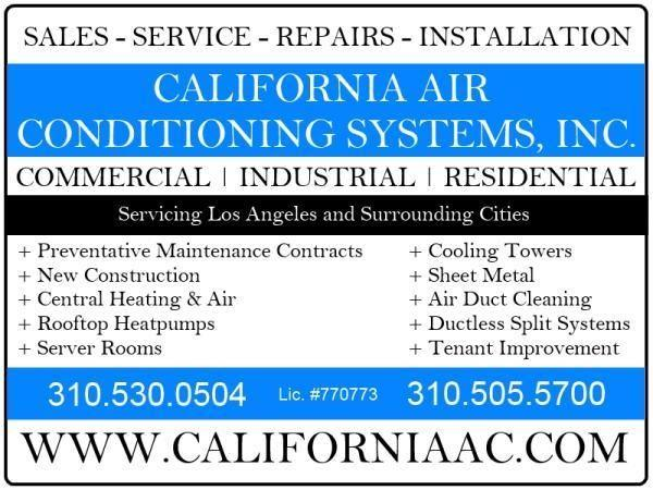 Gardena Heating & Air Conditioning Repair & Service