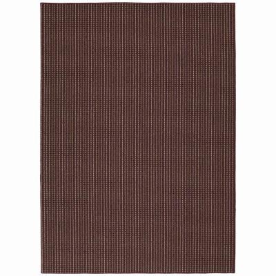 Garland Rug Berber Colorations Chili Red 7 ft. 6 in. x 9 ft. 6 in. Area Rug