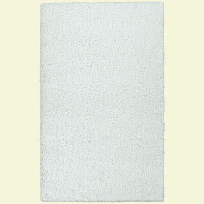Garland Rug Southpointe Shag White 7 ft. 6 in. x 9 ft. 6 in. Area Rug