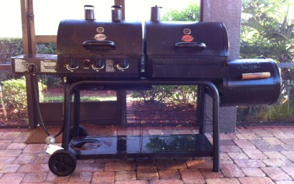 Gas Charcoal Grill Smoker Rig Lakeland For Sale In