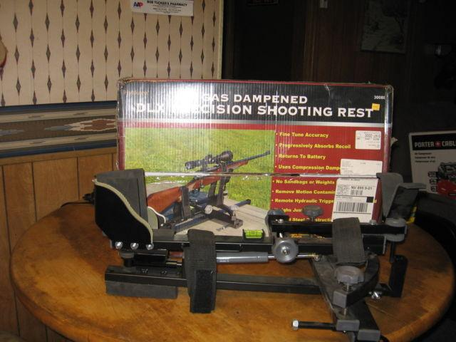 Gas Dampened DLX Precision Shooting Rest