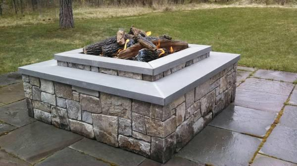 Gas firepits fireplaces inserts stoves outdoor kitchen for Outdoor kitchen bbq for sale