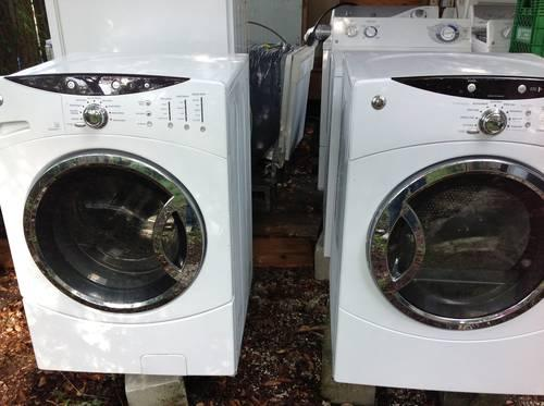 gas ge front load washer and dryer 7 0 cubic ft for sale in tampa florida classified. Black Bedroom Furniture Sets. Home Design Ideas