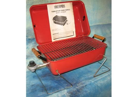 GAS GRILL Portable THERMOS TABLETOP