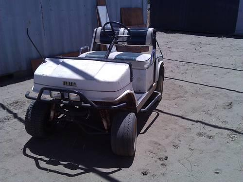 Gas Powered Yamaha Golf Cart