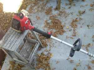 Gas Weed Eater And Self Propelled Craftsman Mower