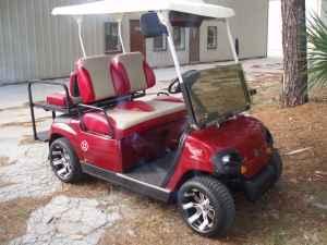 Gas yamaha golf cart orange park for sale in for Yamaha golf cart dealers in florida