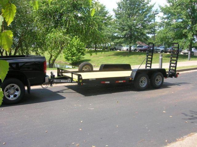 Bobcat Trailer Fenders : Gatormade equipment trailer ft lbs gvw bobcat