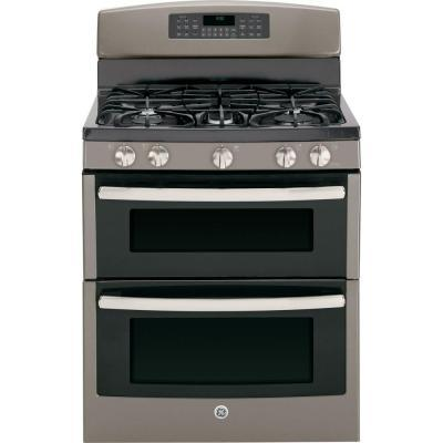 GE 6.8 cu. ft. Double Oven Gas Range with Self-Cleaning