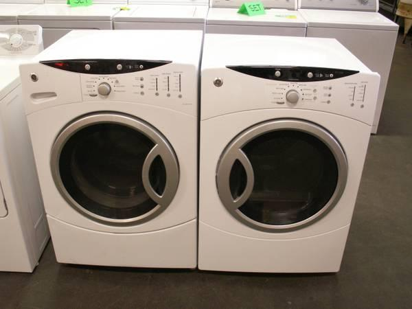 GE Adora Stackable Washer Dryer Set   Nearly New