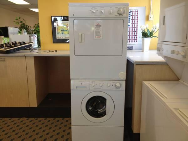ge front load stackset washer dryer used for sale in tacoma washington classified. Black Bedroom Furniture Sets. Home Design Ideas