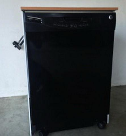 GE GLC4100N10BB Black Convertible / Portable Dishwasher