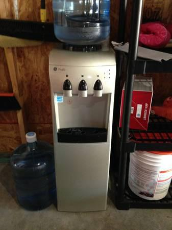 Ge 174 Hot And Cold Free Standing Water Dispenser Cooler With
