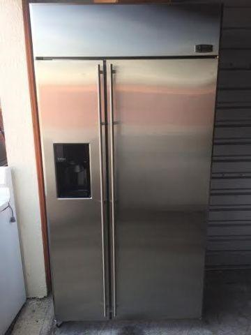 Ge Monogram 42 Stainless Steel Built In Refrigerator For