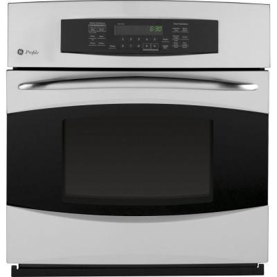 GE Profile 27 in. Single Electric Wall Oven with Self