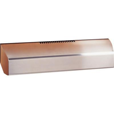 GE Profile 36 in. Convertible Range Hood in Stainless