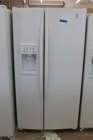 Ge Profile Arctica Side By Side Fridge Refurbished For