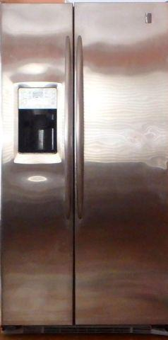 GE Profile Counter-depth side by side Refrigerator Model PSC23MSWC SS