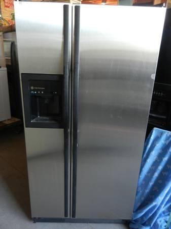 Ge Profile Performance Stainless Steel Side By Side