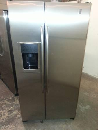 Ge Profile Side By Sid Refrigerator Side By Side Counter