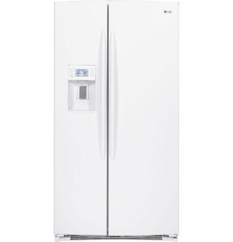 GE Profile Side By Side Refrigerator White Scratch and