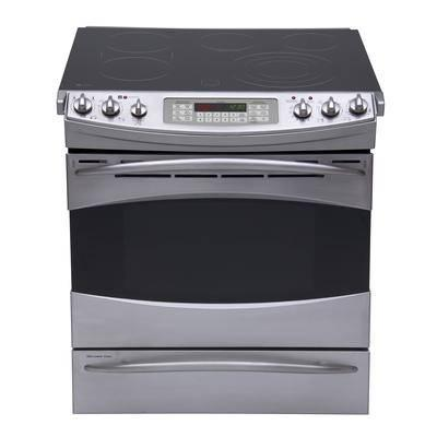 Ge Profile Slide In Electric Range Stainless Pcs968srss