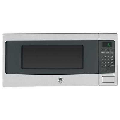 Ge Profile Spacesaver Microwave In Stainless Steel New