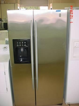 Sale Ge Profile Stainless Refrigerator Ice Maker Water Filter Nice For Sale In Stockton