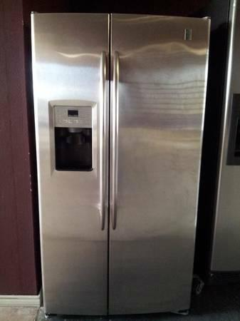 GE Profile Stainless Steel Refrigerator   $599