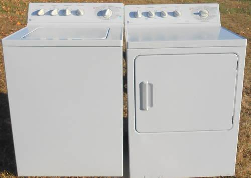GE Profile Washer  Dryer