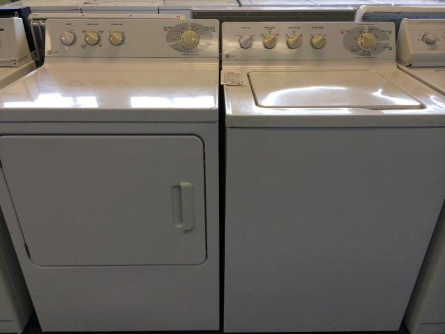 GE Profile Washer  Dryer Set  Pair - USED