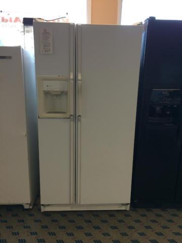 GE Profile White Side by Side Refrigerator - USED
