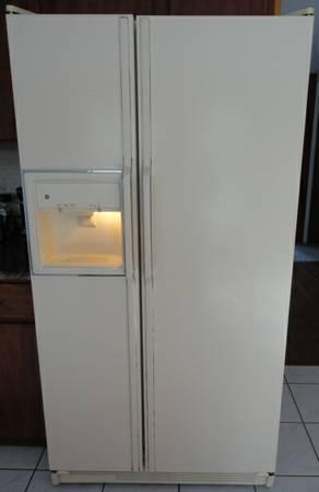 Ge Refrigerator Side By Side With Ice Maker And Water