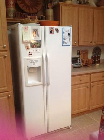 Ge Side By Side Refrigerator For Sale In Vernon Arizona