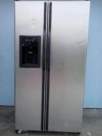 Ge Side By Side Refrigerator Model Number Gsl25jfpabs