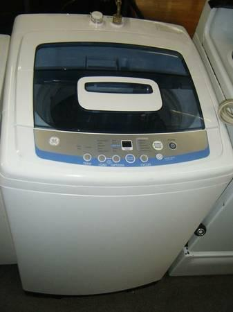 Incroyable GE Spacemaker WSLS1500 Portable Top Load Washer   $265
