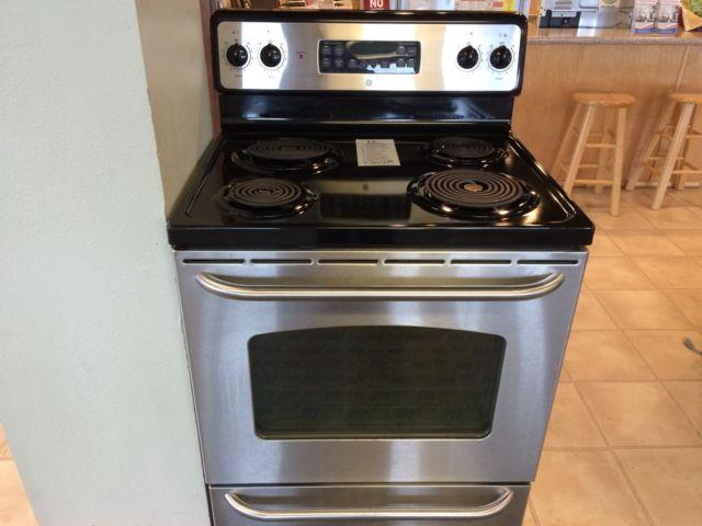 Ge stainless range stove oven used for sale in tacoma for Lakewood wood stove for sale