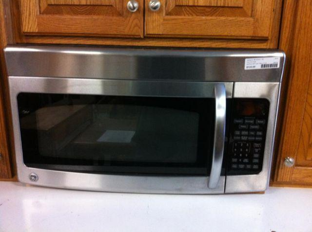 GE Stainless Steel Microwave Over-the-Range