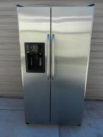 Ge Stainless Steel Side By Side Refrigerator For Sale In