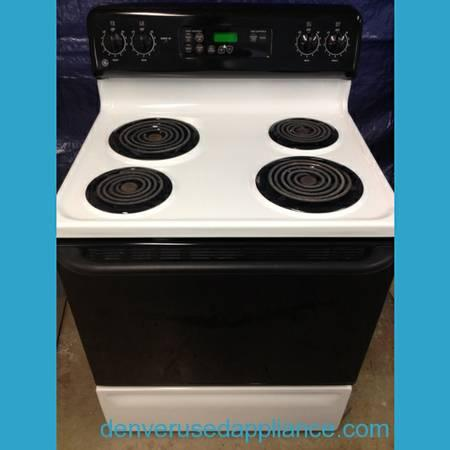 GE Stove, 30 inch, self-cleaning, super clean! - for Sale in Denver on