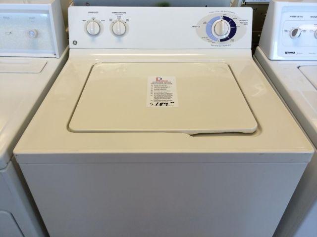 Ge Super Capacity Washer Washing Machine Used For Sale