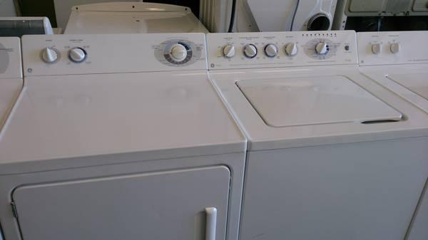 GE washer and dryer set - $400