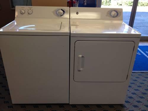 GE Washer and Dryer Set  Pair - USED