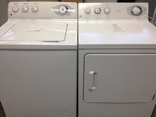 ge washer u0026 dryer set pair used