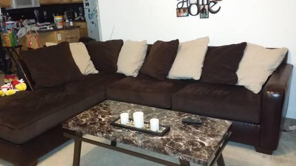 Gemini Sectional Sofa Chocolate Signature Design By Ashley Furniture For Sale In Columbus